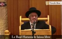 La leçon du Baal HaTania (Rav Yossef Moghrabi)