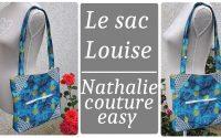 Le tutoriel de mon sac Louise / nathalie couture easy