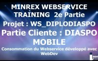 #Leçon 01 : MINREX WEBSERVICE TRAINING PARTIE 2  Création du Projet WinDev Mobile