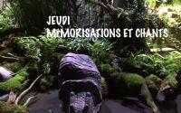 Leçon 13 : Jeudi 25 Juin 2020, Mémorisation et Chants