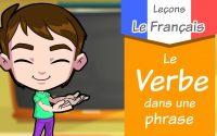 Leçon / Le verbe dans la phrase / Apprendre le français