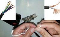 Leçon d'augmentation de la chaleur d'un sèche cheveux en ajoutant un câble à la résistance