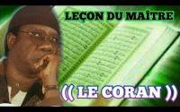 Leçon du Maître ((Le Coran )) Par Serigne Moustapha Sy