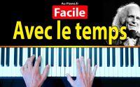 Léo ferré Avec le temps Musique Piano Débutants (Cours Tutorial Leçon)