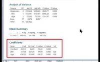 MINITAB (tutoriel)/ Régression multiple