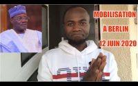 Martin Tajo: Cavaye Yueguié Djibril n'a pas leçon à donner - Mobilisation à Berlin le 12 Juin 2020