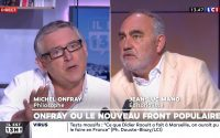Michel Onfray donne une leçon d'histoire à Jean-Luc Mano qui a qualifié son mouvement de rouge-brun