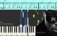 Ninho - Filon - Piano Tutoriel Synthesia