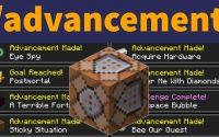 Obtenir ou Retirer des Progrès avec la Commande /advancement - Tutoriel Minecraft 1.16 FR