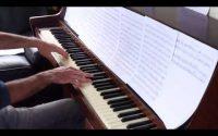 Piano Tutoriel - Le Château Ambulant - Joe Hisaishi