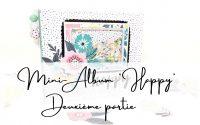 """TUTORIEL SCRAPBOOKING ✂ Mini - Album """"HAPPY"""" 😍100% Action DEUXIÈME PARTIE."""
