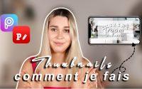 TUTORIEL : comment je fais mes miniatures Youtube sur mon iPhone | PicsArt & Phonto