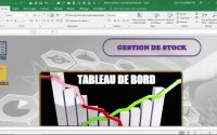 Tableau de Bord - Suivi des Stocks (Leçon n° 3)