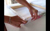 Tutoriel Decomix : Comment monter une toile sur chassis?