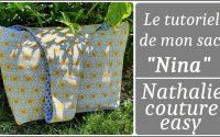 """le tutoriel de mon sac """"Nina"""" / Nathalie couture easy 👝"""