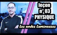 leçon 03 physique BIOF - Les ondes lumineuses