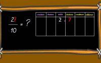 leçon 23  Passer d'une écriture fractionnaire à une écriture à virgule