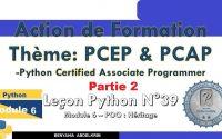 leçon python N°39 partie 2 Module 6 POO Héritage