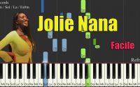 AYA NAKAMURA - JOLIE NANA - PIANO TUTORIEL SYNTHESIA FACILE