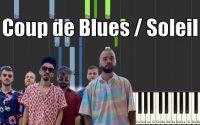 BIGFLO & OLI - COUP DE BLUES / SOLEIL FEAT. BON ENTENDEUR - PIANO TUTORIEL SYNTHESIA
