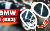 Changer un glace rétroviseur / verre de rétroviseur sur BMW (E82) [TUTORIEL AUTODOC]