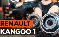 Comment remplacer coupelle d'amortisseur avant sur RENAULT KANGOO 1 (KC) [TUTORIEL AUTODOC]