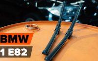 Comment remplacer des essuie-glaces sur BMW E82 [TUTORIEL AUTODOC]