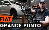 Comment remplacer ressort de suspension avant sur FIAT PUNTO 199 [TUTORIEL AUTODOC]