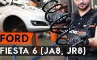 Comment remplacer ressort de suspension avant sur FORD FIESTA JA8 [TUTORIEL AUTODOC]