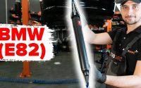 Comment remplacer un amortisseur arrière sur BMW E82 [TUTORIEL AUTODOC]