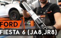 Comment remplacer un amortisseur arrière sur FORD FIESTA JA8 [TUTORIEL AUTODOC]