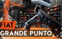 Comment remplacer un bras de suspension avant sur FIAT PUNTO 199 [TUTORIEL AUTODOC]