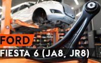 Comment remplacer un bras de suspension avant sur FORD FIESTA JA8 [TUTORIEL AUTODOC]