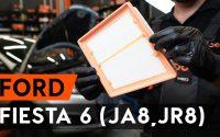 Comment remplacer un filtre à air sur FORD FIESTA JA8 [TUTORIEL AUTODOC]