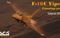DCS WORLD | F16 TUTORIEL - GBU - BOMBE GUIDEE LASER / LITENING POD