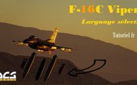 DCS WORLD | F16 TUTORIEL RAPIDE - LARGUAGE SELECTIF - SELECTIVE JETTISON
