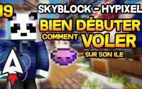Hypixel Skyblock - Bien débuter #19 - Comment voler sur son île ? - Tutoriel, Guide | Alvegar