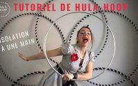 Isolation à une main, tutoriel de hula-hoop.