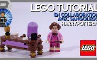 LEGO HARRY POTTER   TUTORIEL # 7   Le bureau et le fauteuil de Dolores Ombrage   FRANÇAIS