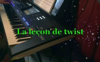 La leçon de twist - Live played on the Genos