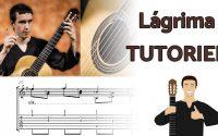 Lágrima - F. Tárrega - Tutoriel à la guitare