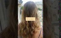 Leçon de coiffure rapide effet mouillé