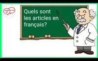 Les articles en français/ Leçon #13