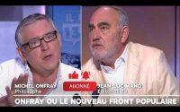 Michel Onfray donne une leçon d'histoire à Jean Luc Mano