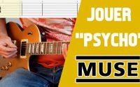 Muse - Psycho (leçon guitare électrique)