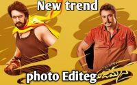 New trend photo editing | photo lab editeg tutoriel | Kannada sudeep,darshan, 2020