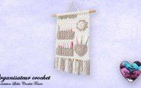 "Organisateur crochet tutoriel ""Lidia Crochet Tricot"""