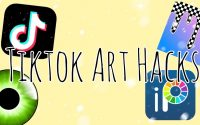 🌼 TIKTOK Art Hacks / Tutoriel 🌼 By Zhēn nà Studiø 💨