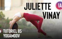 Tutoriel 85 | Yogamoov Routine renforcer l'articulation du genou par Juliette Vinay