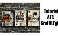 Tutoriel ATC, Graffiti'girl par Carole